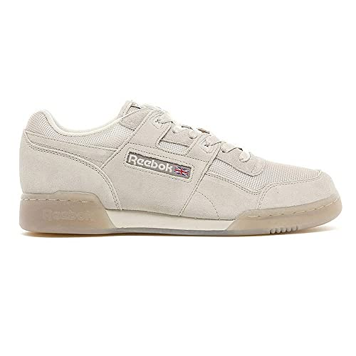 4b2268044784b Reebok Workout Plus TN - Stucco Beach Stone-UK 10   EU 44.5  Amazon.co.uk   Shoes   Bags