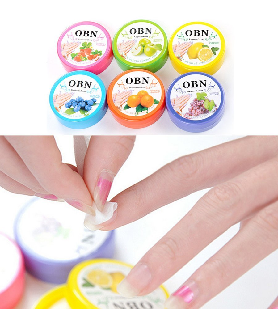 Nail Polish Remover Pads, Nail Polish Cotton Pads Oil Remover Wipes with Fruity Smell 3 Boxes EQLEF®