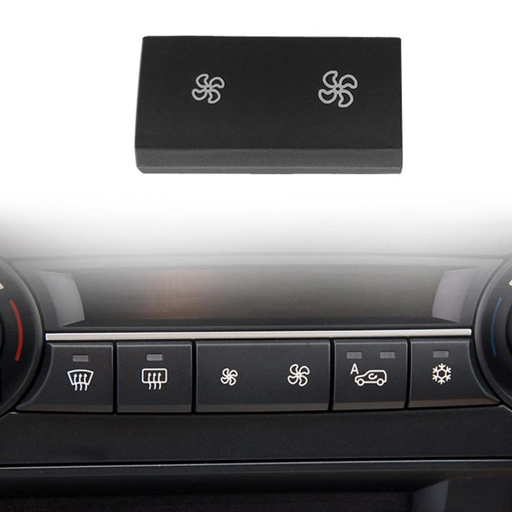 ttnight Heater Climate Air Conditioning Control Button Cover for BMW X5 E70 X6 E71