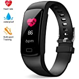 Airbinifit Fitness Tracker for Women Men,Colorful Screen Activity Tracker Smart Watch with Heart Rate Monitor,Waterproof Pedo