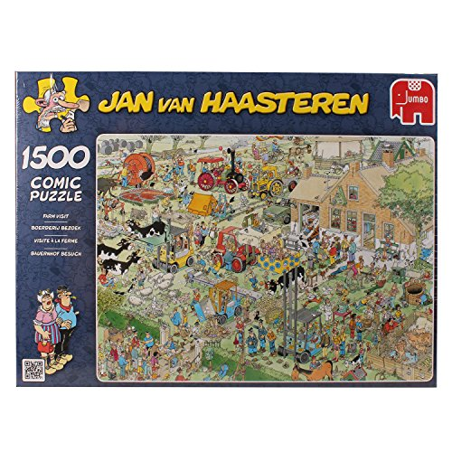 Jumbo The Farm 1500 Piece Puzzle