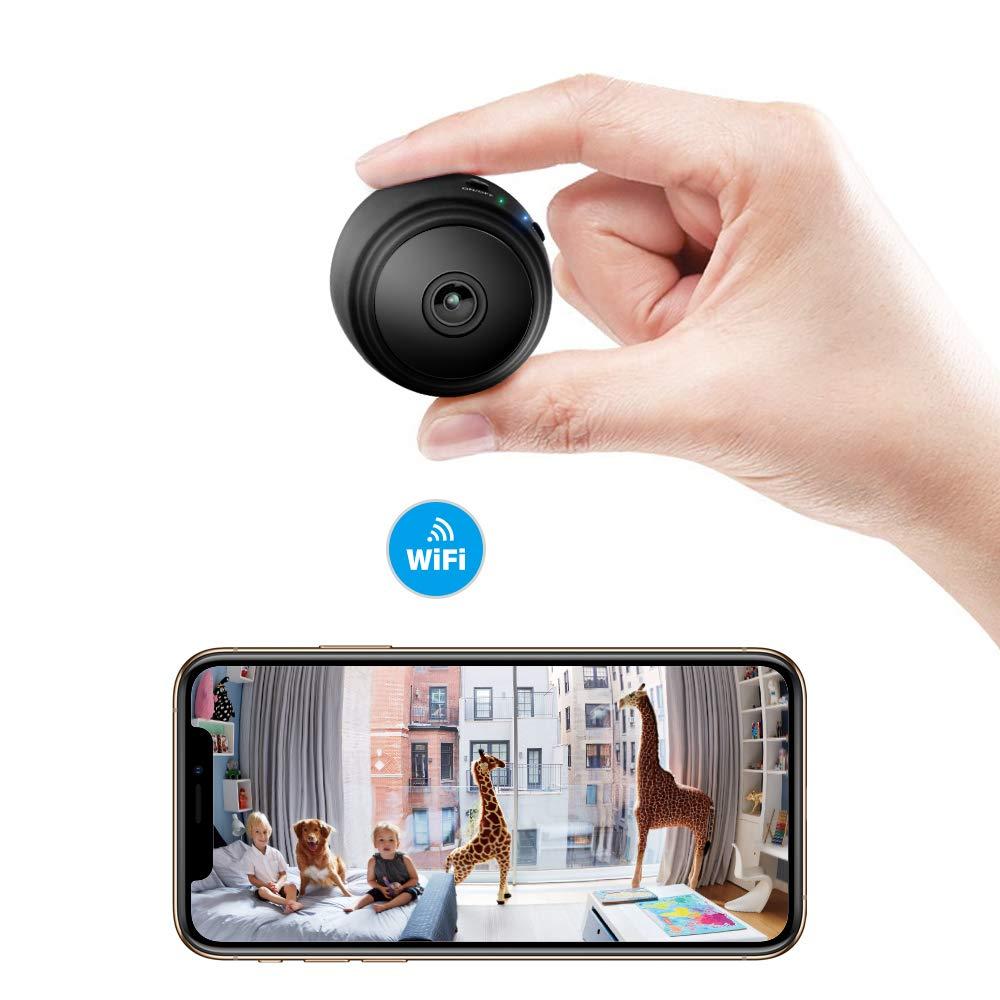 Veroyi Mini Hidden Camera Full HD 1080P WiFi Wireless Remote Security Camera Nanny Cam Home Surveillance Camera