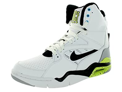 41230ee6bb1a Image Unavailable. Image not available for. Colour  NIKE Men s Air Command  Force White Black Wolf Grey Volt Basketball Shoe 11.5