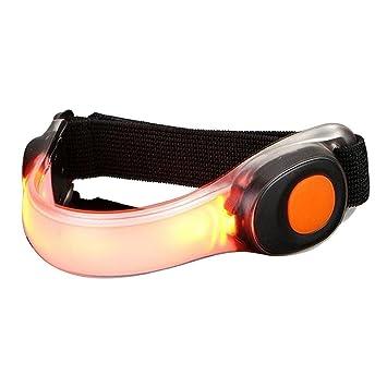 pawaka LED brazalete reflectante de silicona, cinta de correr ...