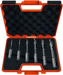 CMT Orange Tools 160.001.10 - Estuche 6 brocas corte helicoidal kss s 13 sx: Amazon.es: Bricolaje y herramientas