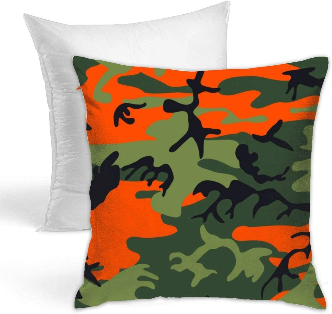 Amazon Com Doobey Camouflage Polyester Decorative Square Throw Hold Pillow Hold For Sofa Bedroom Car Home Decor 18 X18 45x45cm Home Kitchen