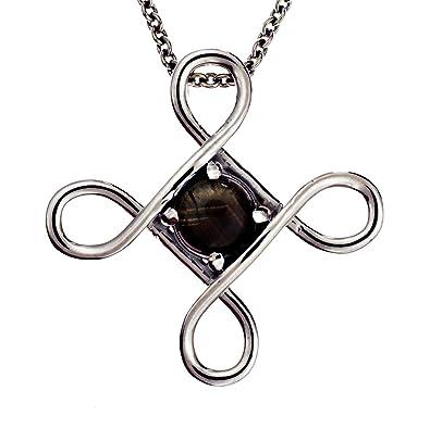 Amazon amore jewelry design black star sapphire pendant with amore jewelry design black star sapphire pendant with 193ct genuine black star sapphire aloadofball Choice Image