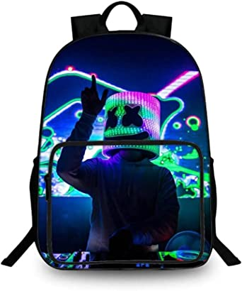 Unisex School Backpacks A-L-F 3D Printed Large Capacity Casual Travel Bag
