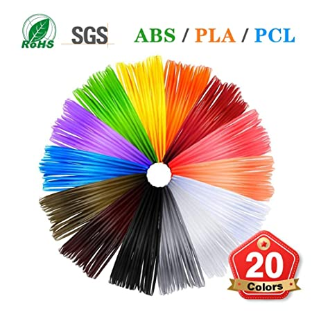 Nwhzl 3D Pluma Filamento PLA ABS PCL 1.75 mm, Dimensional Accuracy ...