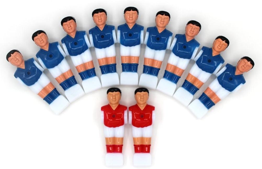 NUOBESTY Set de Jugadores de futbolín de Foosball para Hombre ...