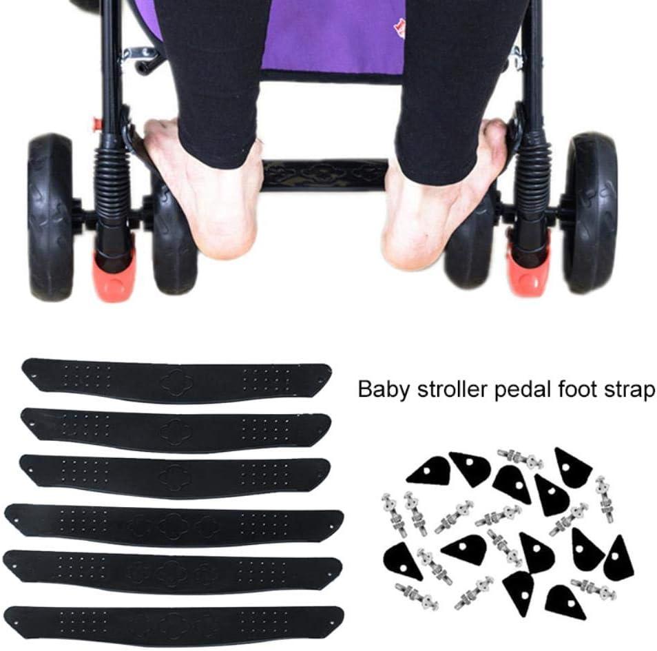 JPZCDK Kunststoff Trittbrett f/ür Kinderwagen Pedal Fu/ßst/ütze Kinderwagen Baby Fu/ßst/ütze Kinderwagen Anti-Rutsch-Sicherheit Schwarzes Trittbrett gro/ß