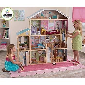 Amazoncom KidKraft Majestic Mansion Pretend Play Wooden