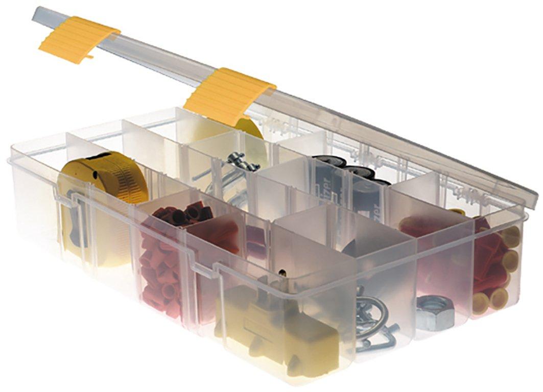 Plano PLO03730US Plateau compartimenté profond pour le petit outillage et outils avec poignée en Polypropylène Transparent