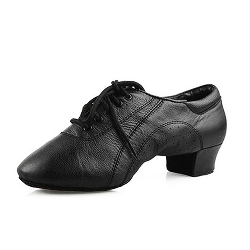 Doris Leather Men's Latin Dance Shoes Soft Square Square Dance Modern Cha-Cha Dance Shoes csm-M106