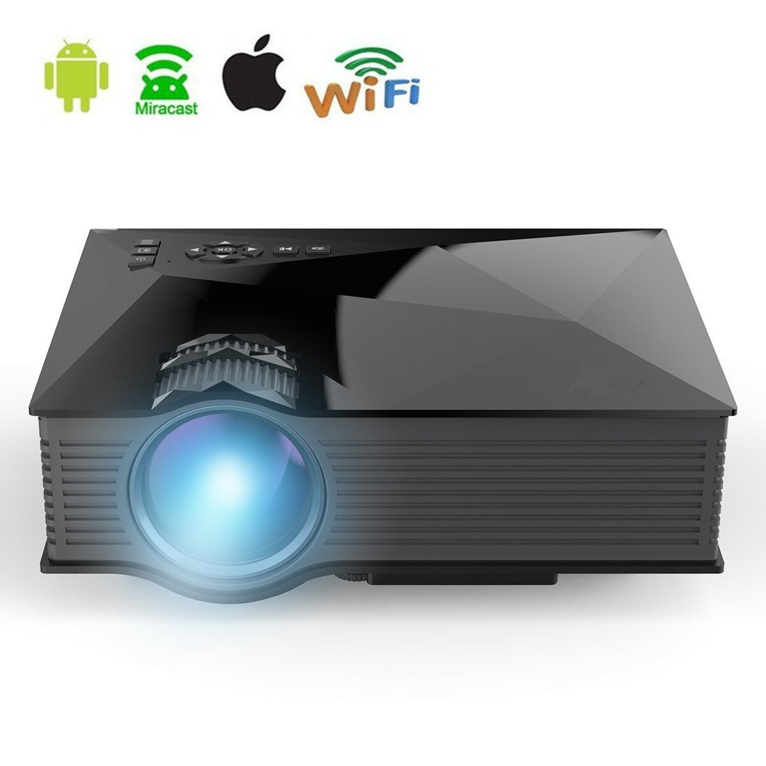 Best Mini Projector 2020.Top 10 Best Wireless Wifi Android Video Projectors 2018 2020