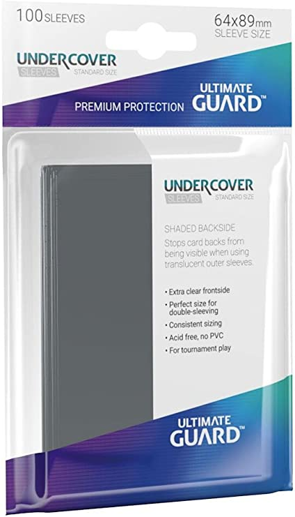 Ultimate Guard Precise Fit Standard Size Sleeves 64x89mm