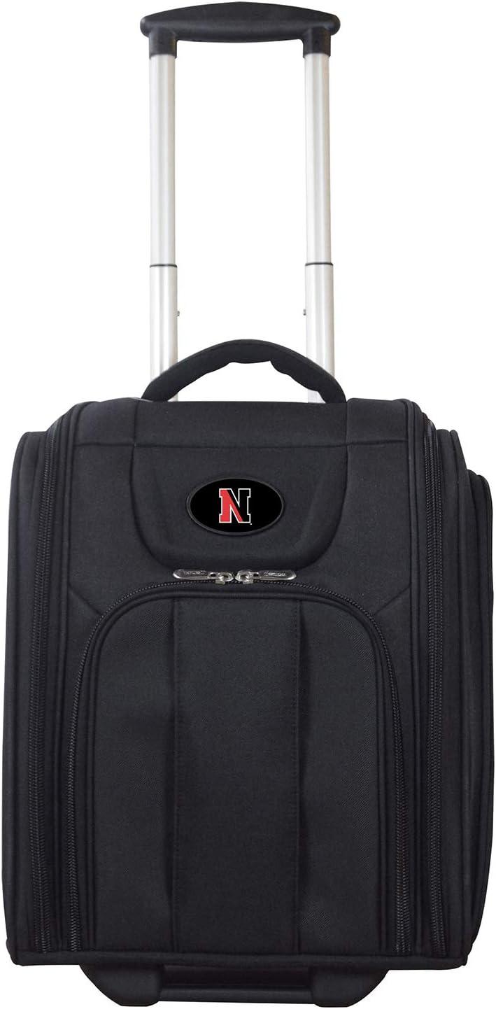 NCAA Northeastern Huskies Deluxe Wheeled Laptop Overnighter