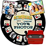 IMAGE3D Custom Viewfinder Reel Plus Red RetroViewer - Viewfinder for Kids, & Adults, Classic Toys, Slide Viewer, Discovery Toys, Retro Toys, Vintage Toys, May Work in Old Viewfinder Toys with Reels