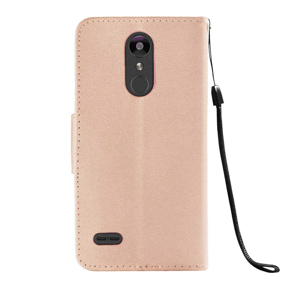 Compatible with Samsung Galaxy S10 Flip Case for Samsung Galaxy S10 Black Rose Gold PU Leather Wallet Cover