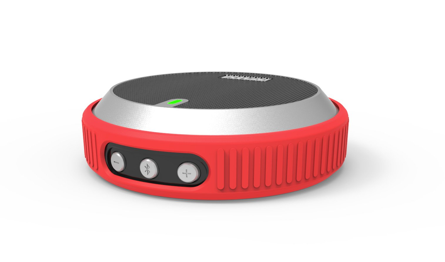 Red M-520 Ultra-Portable Wireless Bluetooth Speaker - 20...