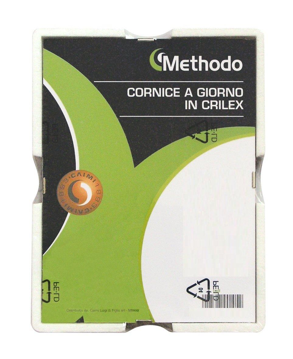 Methodo K900120 Cornice a Giorno in Crilex Metodo