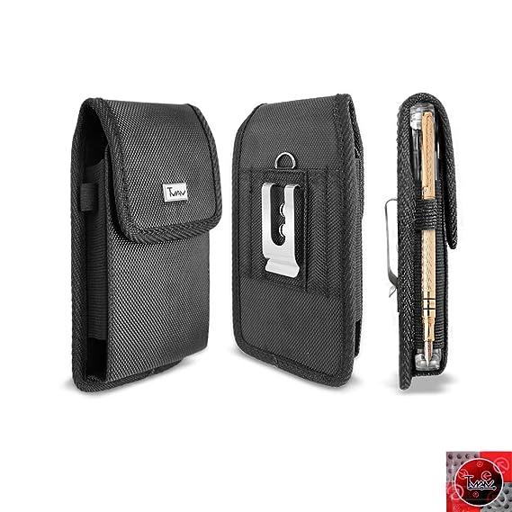 meet 19a0e 36979 for Samsung Galaxy S10/ S10 Plus Case; TMAN Heavy Duty Rugged Canvas Nylon  Case/Pouch/Holster Metal Belt Clip for Samsung Galaxy S10/ S10 Plus (Galaxy  ...