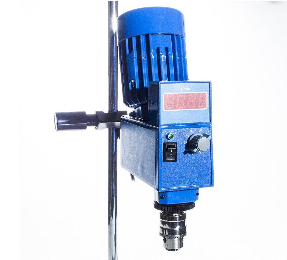 Lab Digital Overhead Stirrer Lab Mixer Heavy Duty Overhead Laboratory Mixer industrial liquid mixer 0~10000mpas, 20L, 2 Years Warranty by XZBELEC (Image #4)