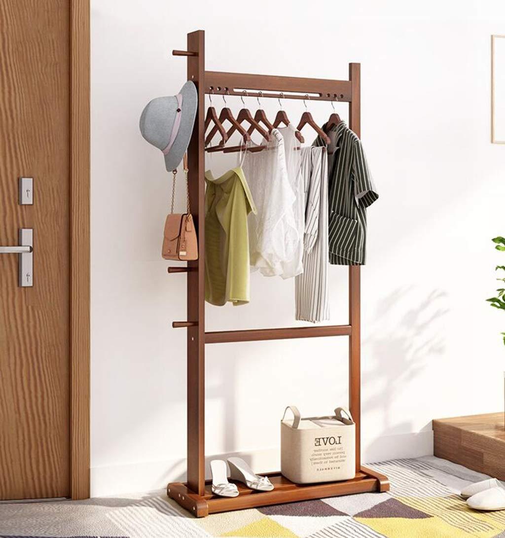 Amazon.com: Perchero para ropa de 2 niveles, con tablero de ...