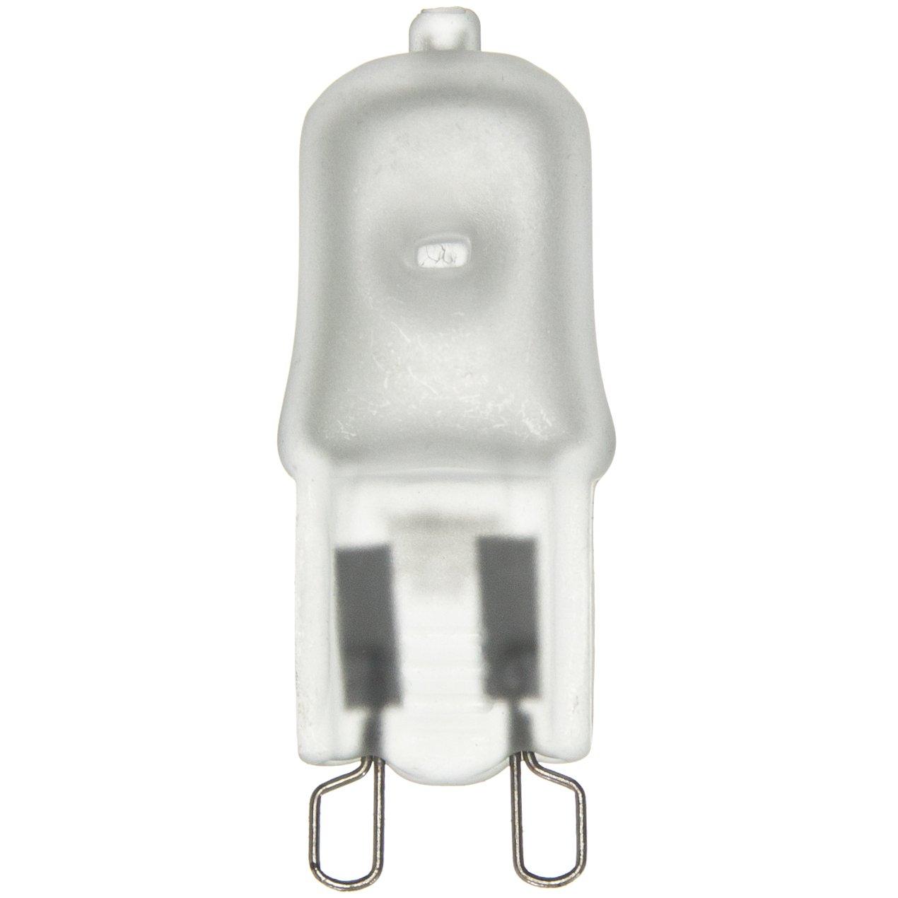Sunlite Q50/G9/FR/120V 50-Watt Halogen G9 Bi-Pin Based Bulb, Frost - - Amazon.com