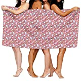 zap carpet cleaner - Holiday Cheers Animals Adult Soft Microfiber Printed Beach Towel For Swimming,surf,Gym,spa 80cm x 130cm,highly Absorbent