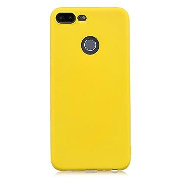 cuzz Funda para Huawei Honor 9 Lite+{Protector de Pantalla de Vidrio Templado} Carcasa Silicona Suave Gel Rasguño y Resistente Teléfono Móvil ...
