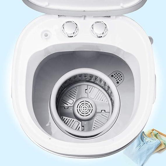 MY1MEY Mini Lavadora Detergente para Ropa Compacto ...