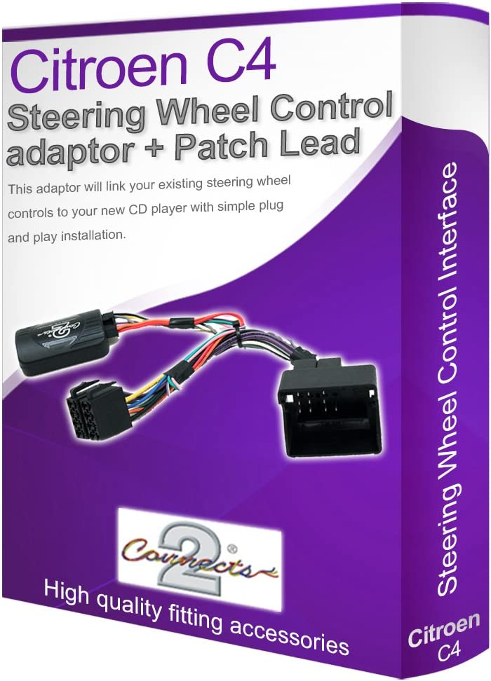 Sony adaptador de volante citroen c2 c3 c5 c8 berlingo ISO