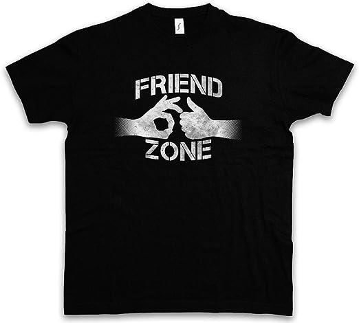 Friend Zone I T-Shirt Hand Heart Hands Thumps up Hearts