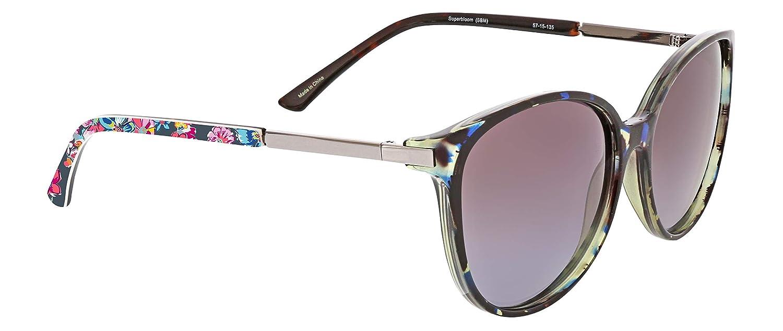 f4db5f2f8d Amazon.com  Vera Bradley Women s Tori Polarized Round Sunglasses ...