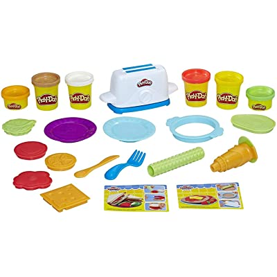 Play-Doh Kitchen Creations Toaster Creations: Hasbro: Toys & Games