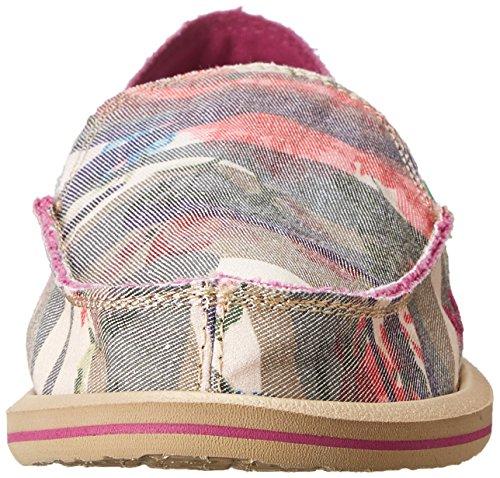 Sanuk Kvinna Donna Blandas Ihop Slip-on Loafer Camo / Floral
