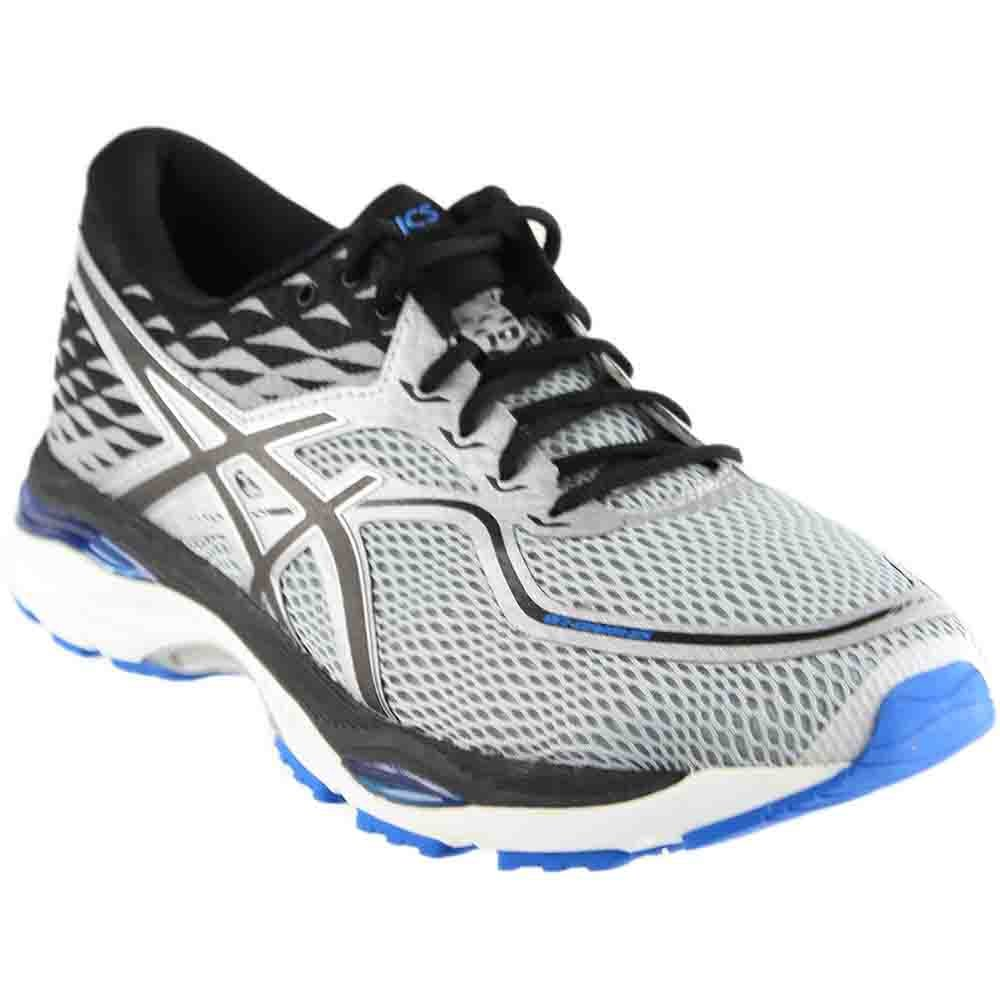 ASICS Men's Gel-Cumulus 19 Running Shoe, Grey/Black/Directoire Blue, 11 Medium US by ASICS