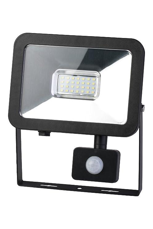 Poly pool pp3137 Proyector Luz LED con sensor de presencia crepuscular de exterior 20 W,