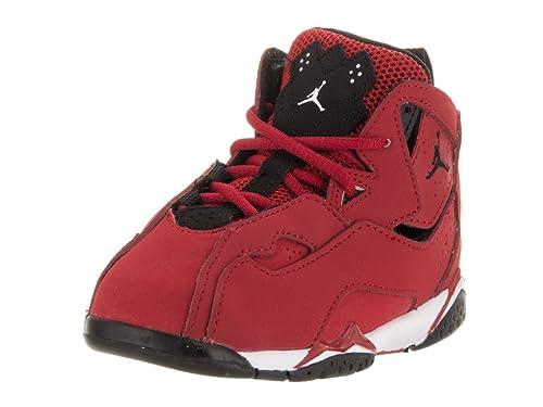 premium selection 66f5f eac5a Nike Jordan Toddlers Jordan True Flight Bt Gym Red Black White Black Basketball  Shoe 6