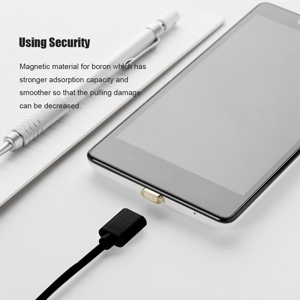 connecteurs USB-C//Pas de Cordon NetDot Ajouter Un connecteur USB-C Compatible avec Le c/âble magn/étique Gen3