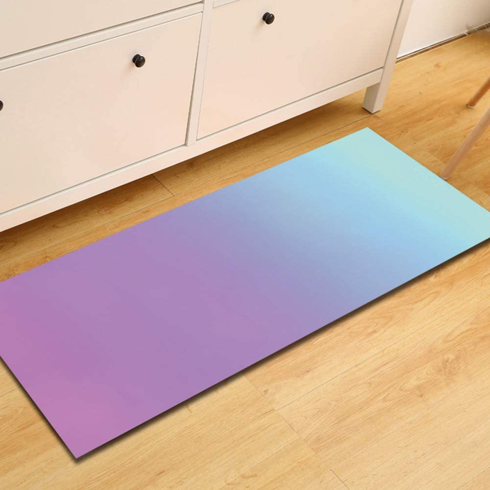Modern Watercolor Area Rugs Living Room Carpet Bedroom Runner Mats for Children Play Home Decorator Floor,J,60x180cm