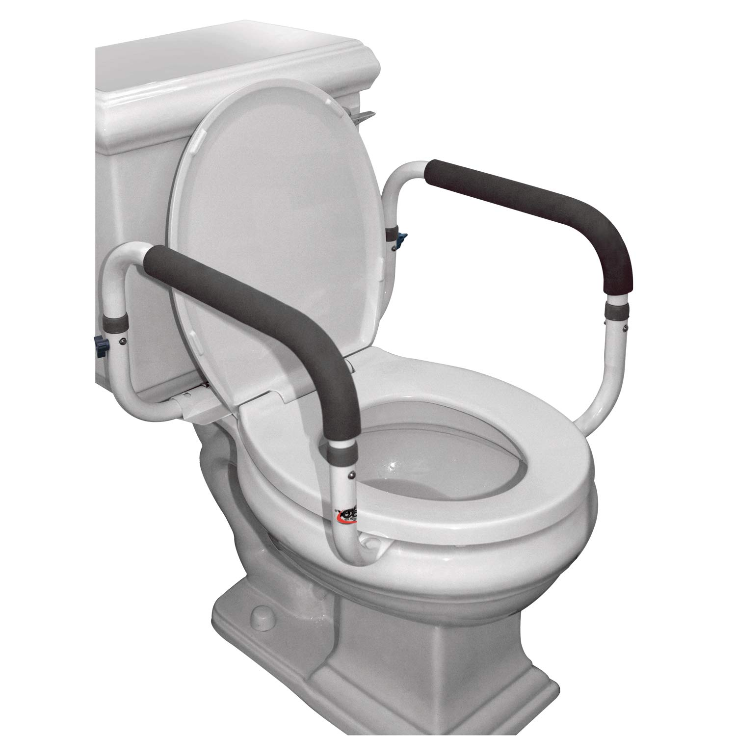 9324ee80e13 Amazon.com  Carex Toilet Safety Frame - Toilet Safety Rails With Adjustable  Width - Toilet Rails For Elderly