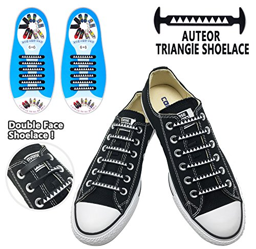 Personality No Tie Shoelaces for Kids and Adults - Lace Slip Triangle All