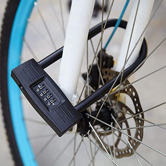Universal Anti-Theft 4 Digits Combination Bike Bicycle Safety Code Password Lock