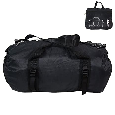 Image Unavailable. Foldable Travel Luggage Duffle Gym Sport Shoulder Bag  Lightweight ... cfac507919d0a