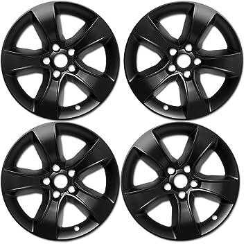 Rueda Skins para Dodge Charger (Pack de 4) fundas para ruedas - 17 inch Negro imposters: Amazon.es: Coche y moto