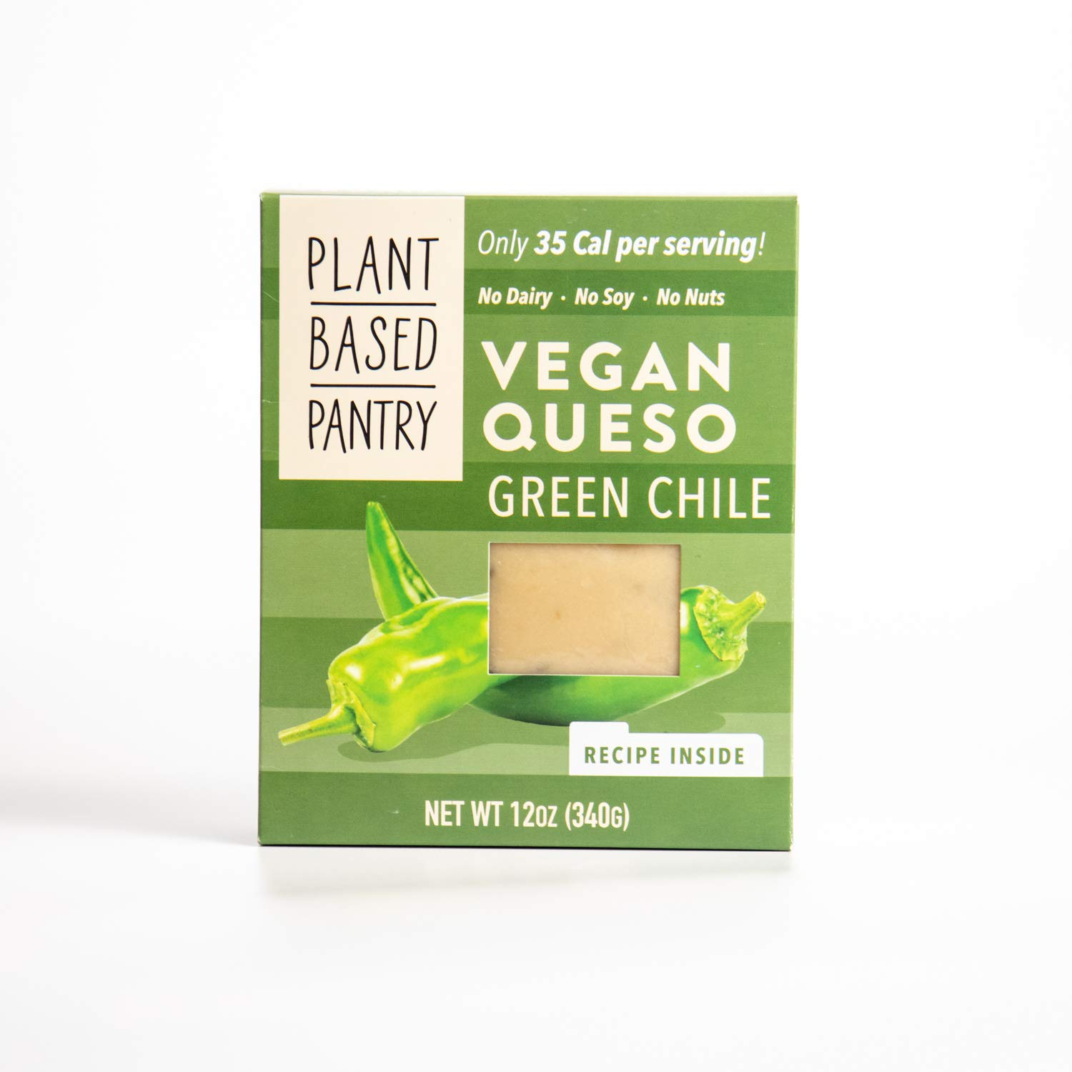 Vegan Queso Green Chile by Plantbased Pantry