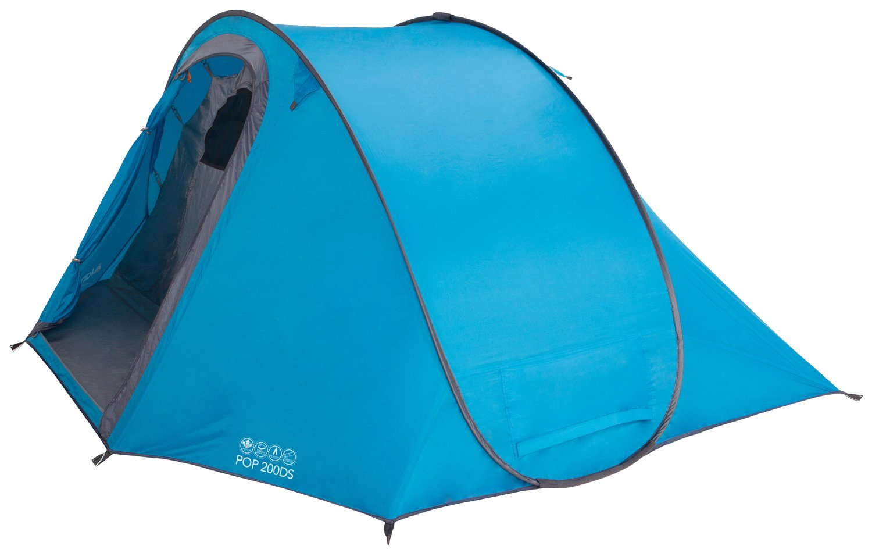 Vango Pop 200 DS 1-2 Personen PopUp Camping Wurf-Zelt Sekundenzelt Automatikzelt