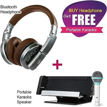 CAROL Auriculares inalámbricos Premium BTH-830 (Altavoz portátil Karaoke: iAS-102) NOV/19~DEC/31 Solamente.: Amazon.es: Electrónica